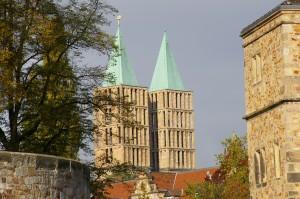 Türme der Martinskirche - Au-Pair-Treffpunkt