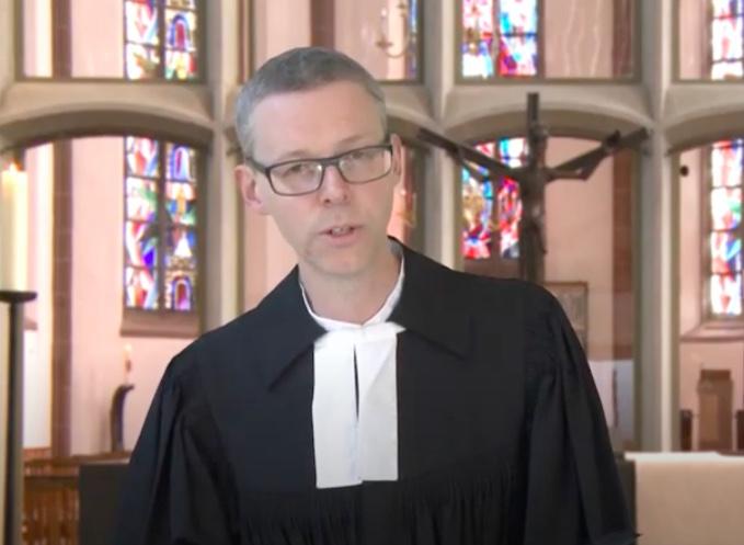 Hoffnungsbotschaft aus der Martinskirche mit Pfr. Dr.  Till Jansen