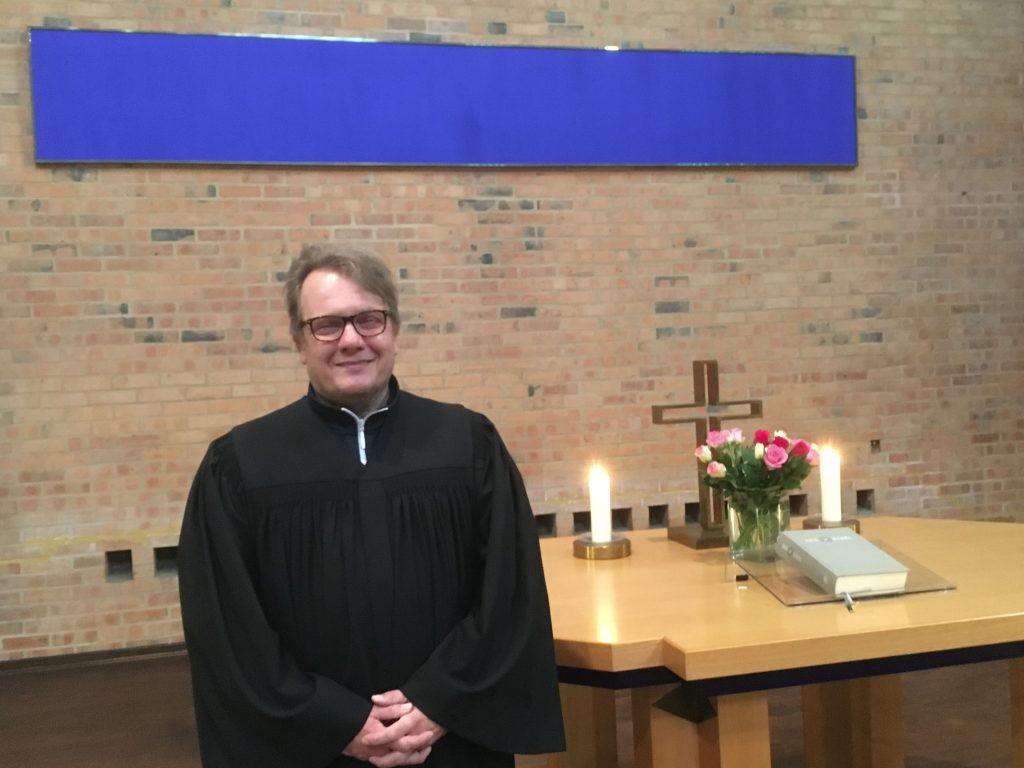 Osterpredigt von Lektor Lutz Geydan