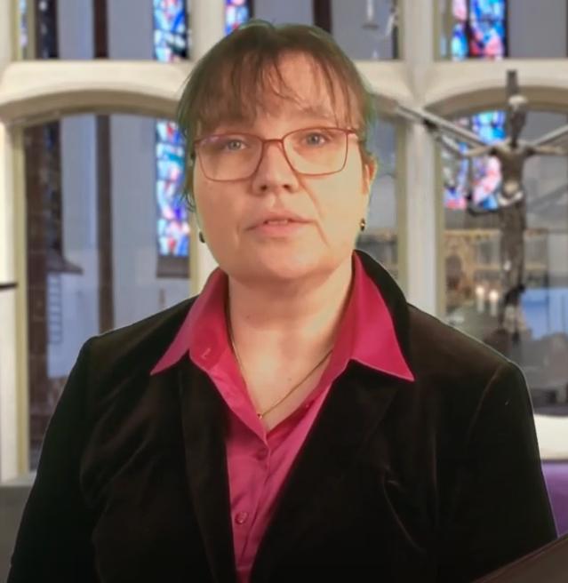 Hoffnungsbotschaft aus der Martinskirche mit Pfarrerin Petra Fuhrhans