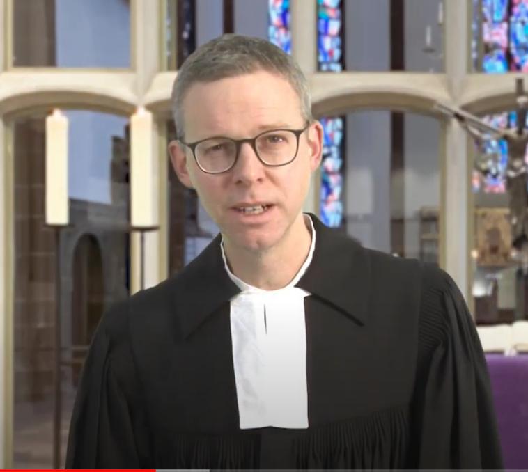 Hoffnungsbotschaft aus der Martinskirche mit Pfarrer Dr.  Till Jansen