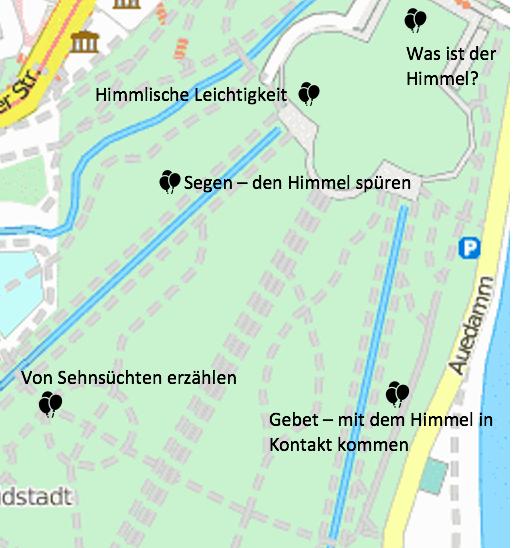 Ökumenischer Himmelfahrt-Spazier-Gottesdienst in der Karlsaue